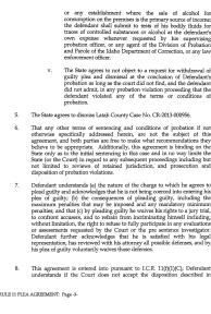 Jamin Wight: Rule 11 Plea Agreement page 3